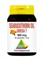 Seabuckthorn oil 500 mg omega 7