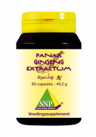 Panax Ginseng Extract + Royal Jelly + Guarana 60 caps