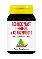Red rice yeast + fish-oil + Co enzyme Q10