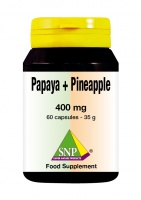 Papaya + Pineapple