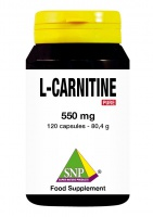 L - Carnitine 550 mg Pure