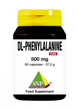 DL-Phenylalanine 500 mg Pure