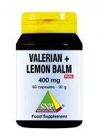 Valerian + Lemon Balm Pure